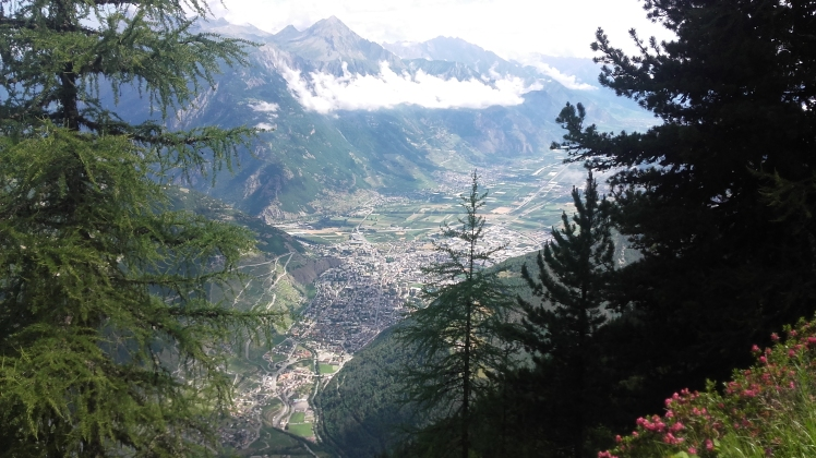 MARTIGNY (Suisse) ET LA VALLEE DU RHONE