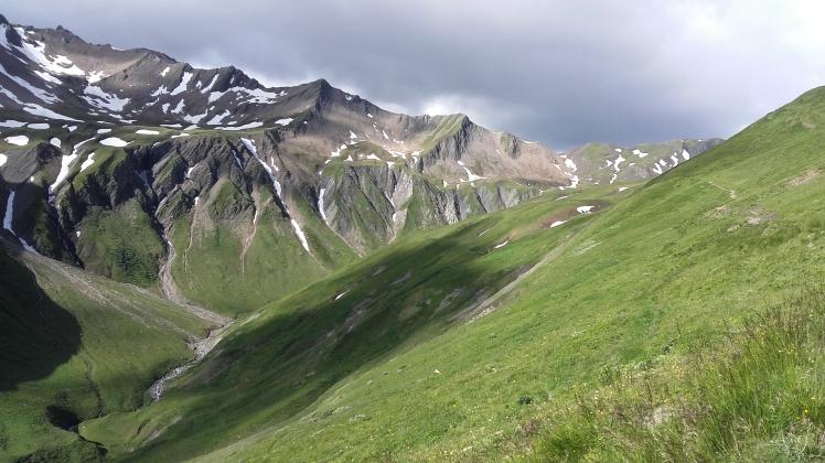 TMB La Peule vers le grand Col Ferret