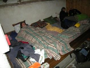 le dortoir -REFUGE DES MOTTETS