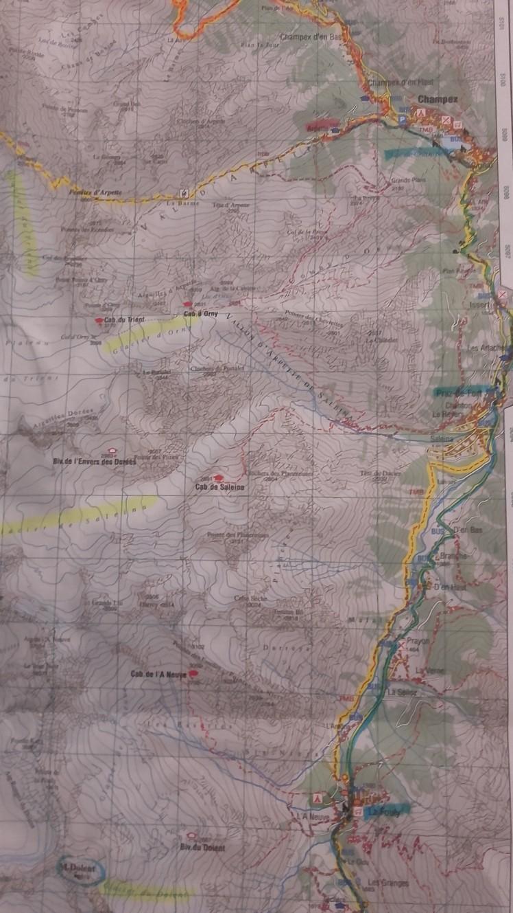 parcours J 6- ARPETTE- LA PEULE