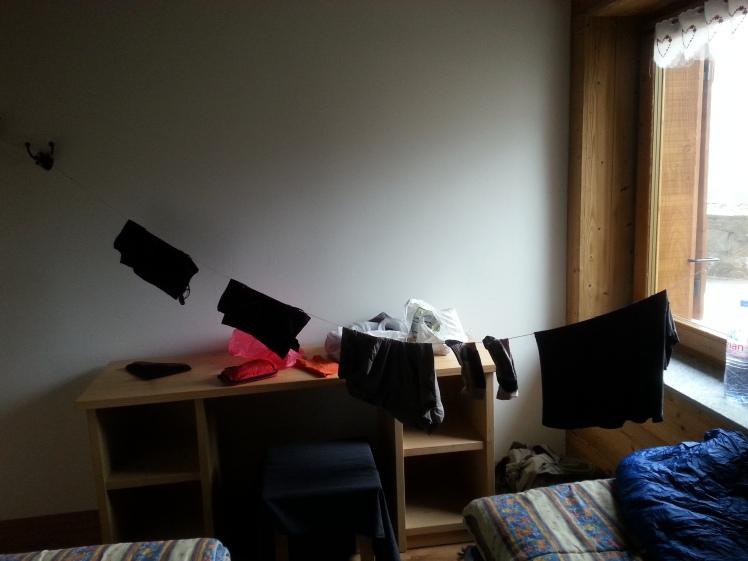 chambre aménagé